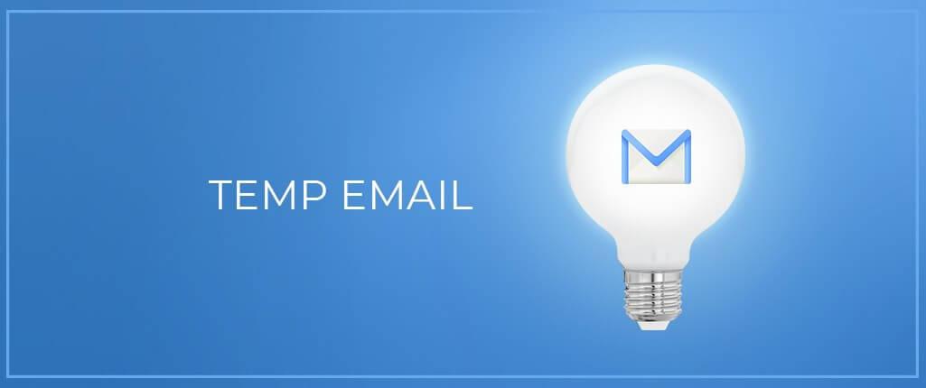 L`utilisation d`une adresse e-mail temporaire