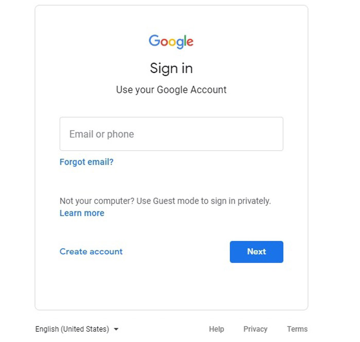 create gmail new account​